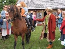 Også hestemoden blev vist frem